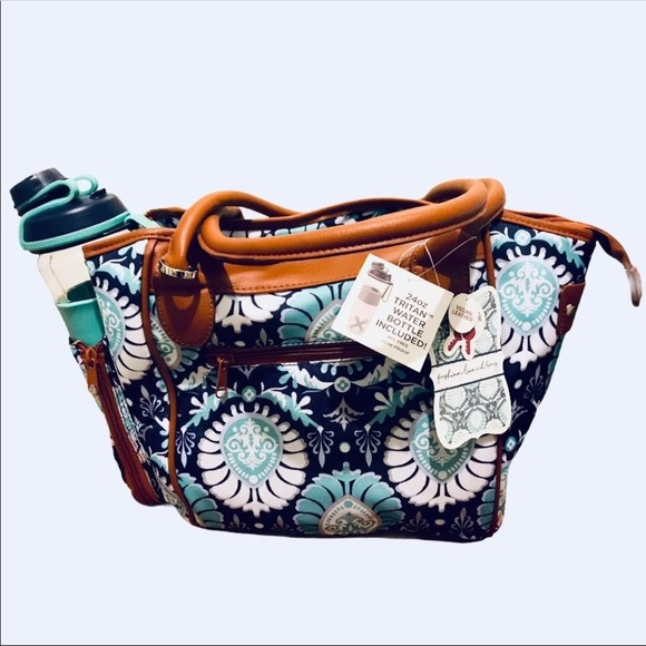 Fit&fresh insulated lunch bag set